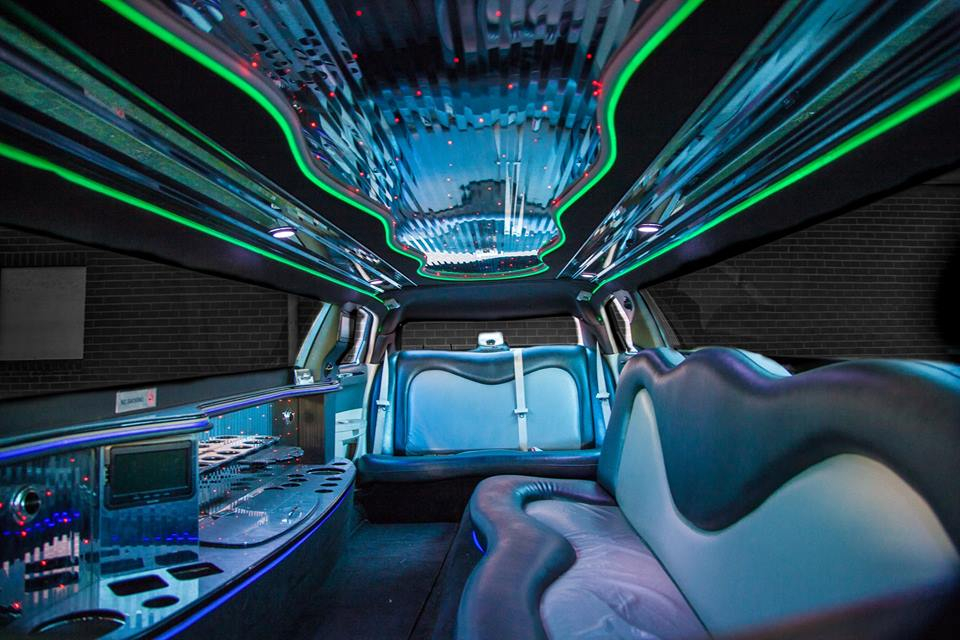 Binnenkant Chrysler limo
