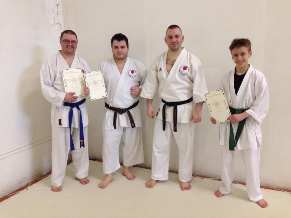 Group pic from 2015 grading