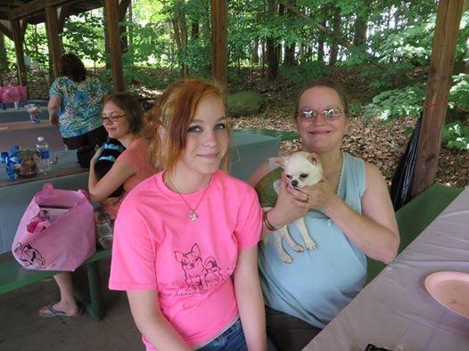 Katie, Cillia & Grand Ch. Blizzard
