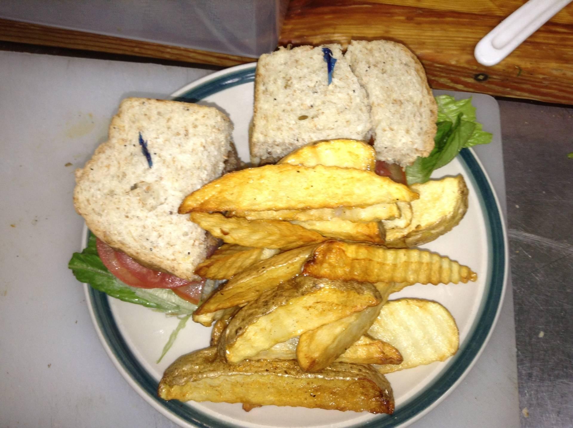 Sandwich & Fries