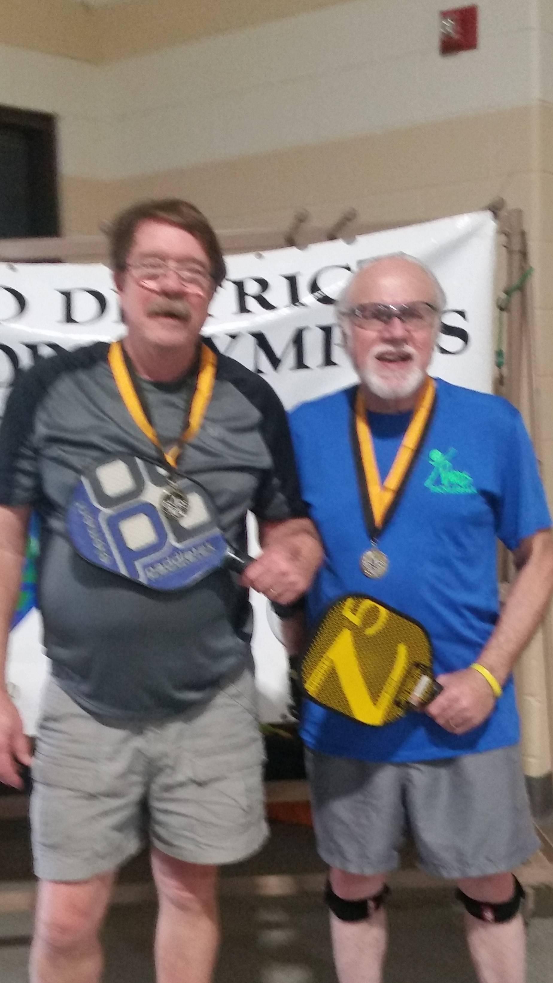 Bruce Brannon and Andrew Menard