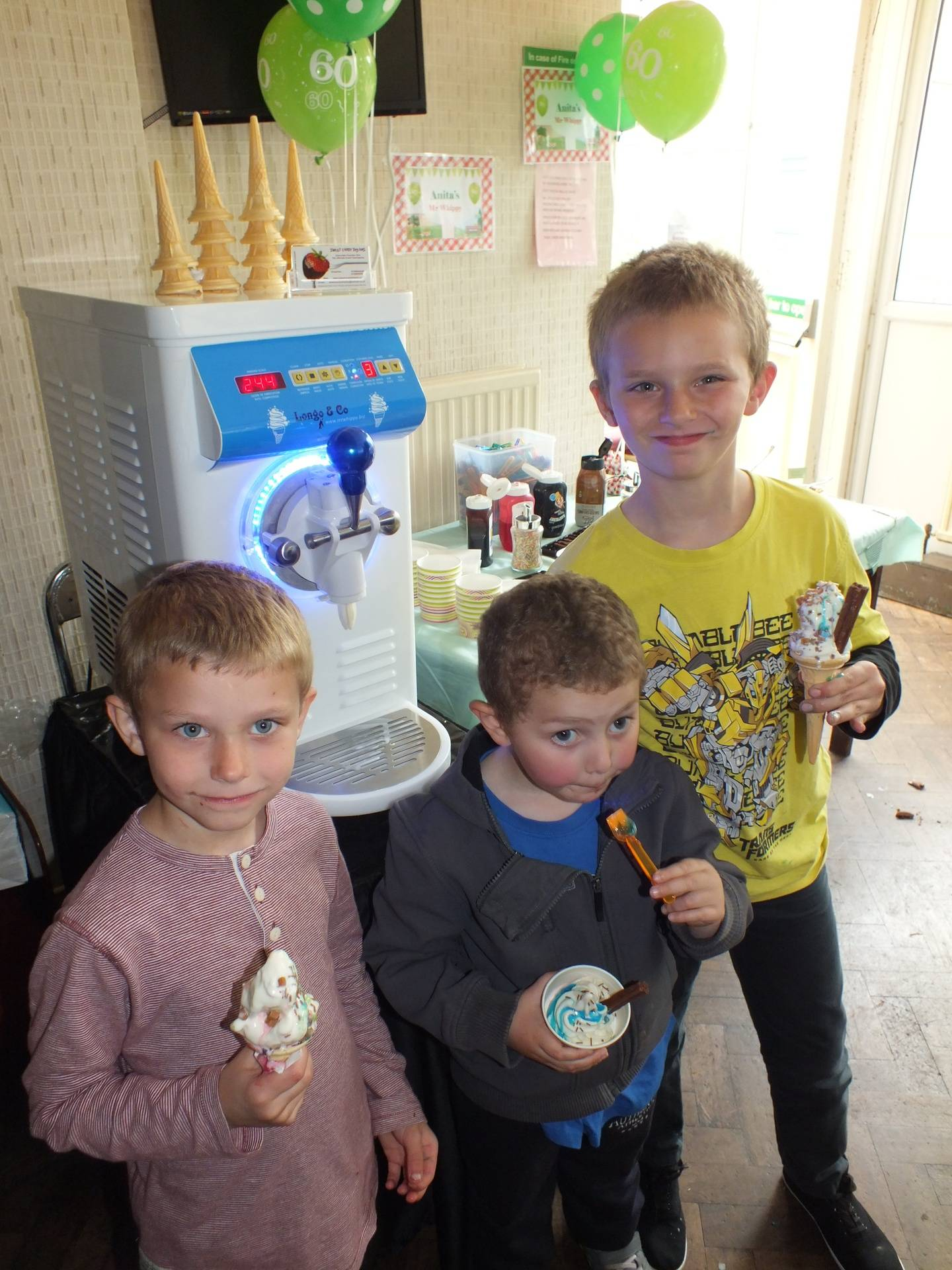 Mr Whippy ice cream machine hire in Sheffield