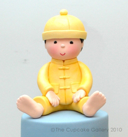 Boy in Chinese King costume