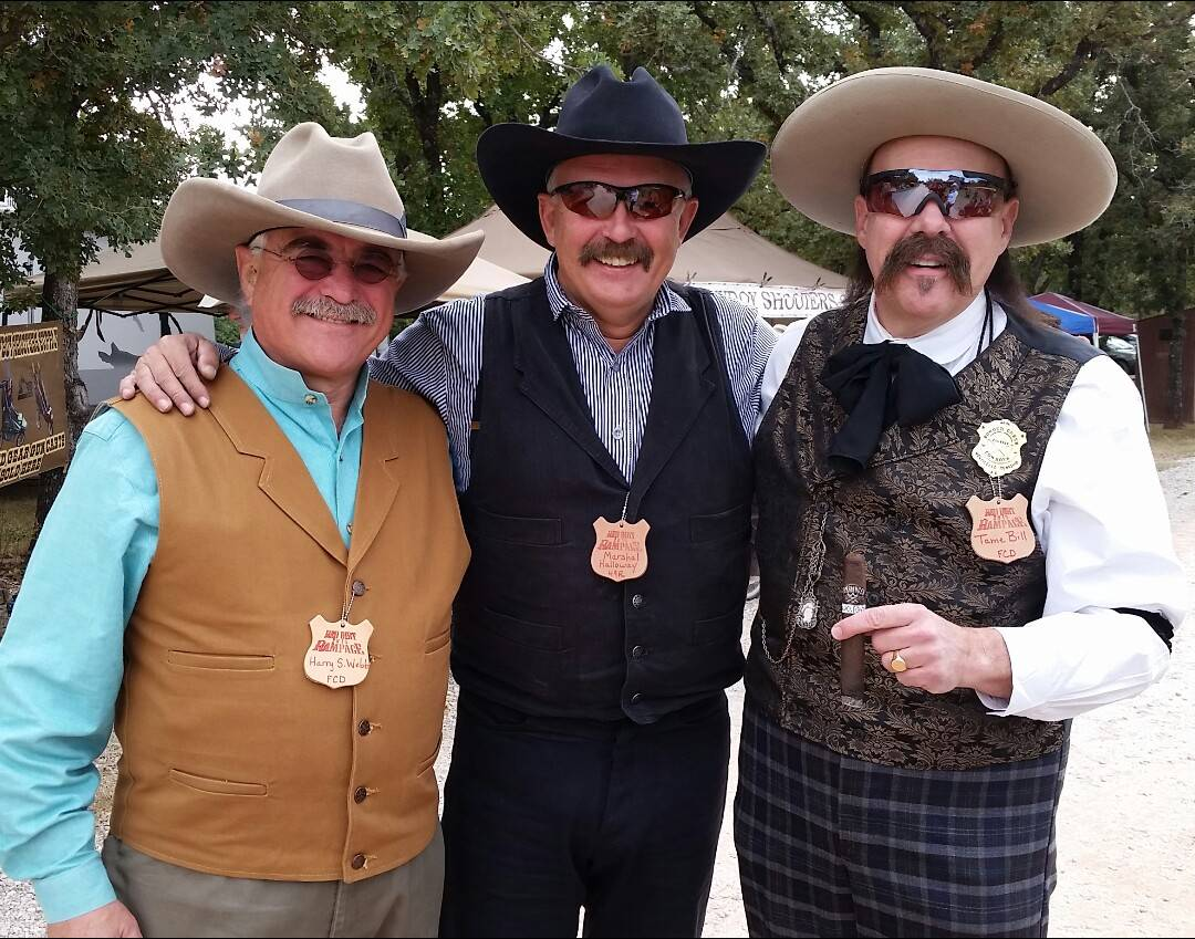 Harry Webb, Marshal Halloway & me