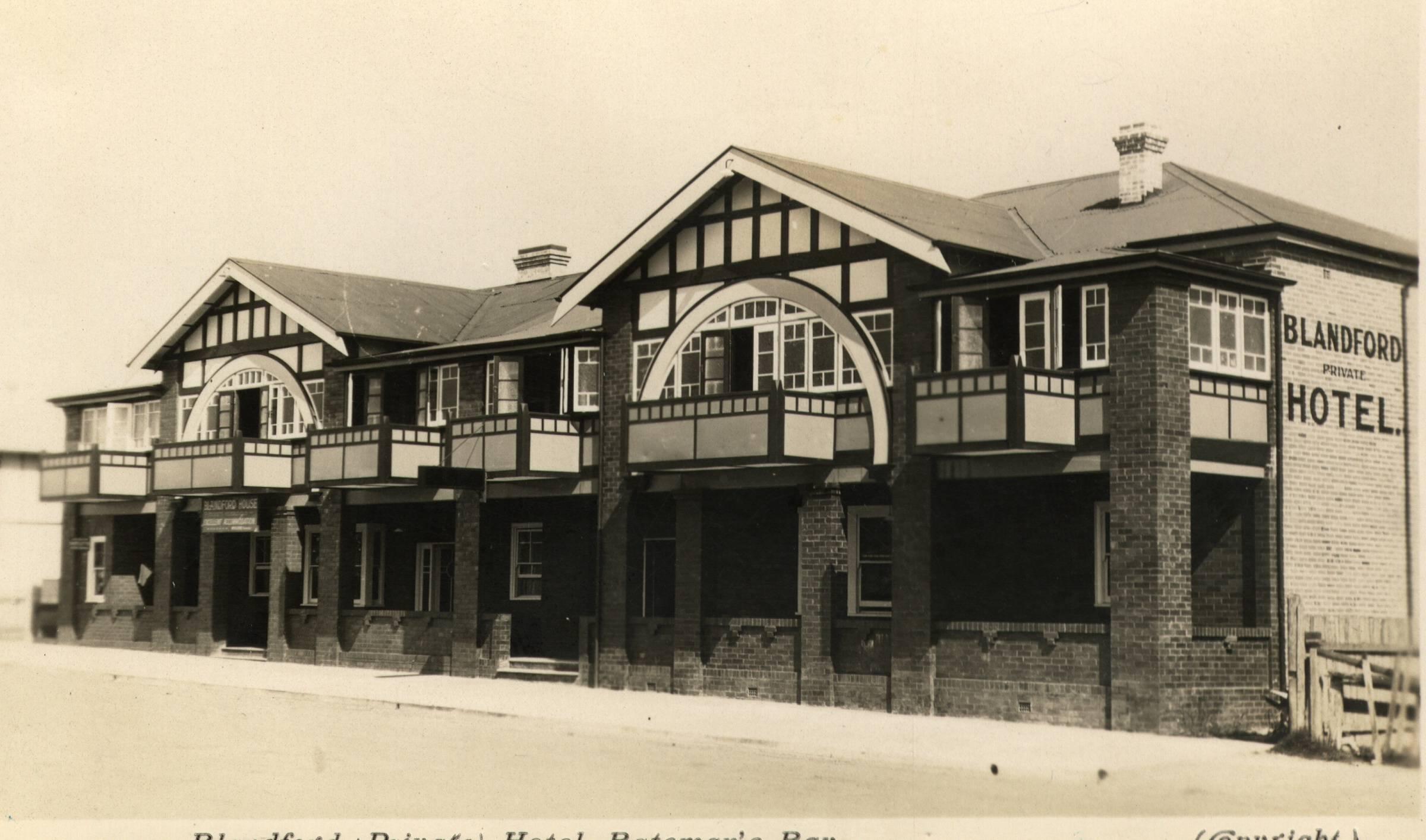 Blandford House 1940s
