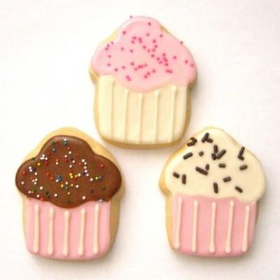 """Royal Icing """"Cupcakes"""""""