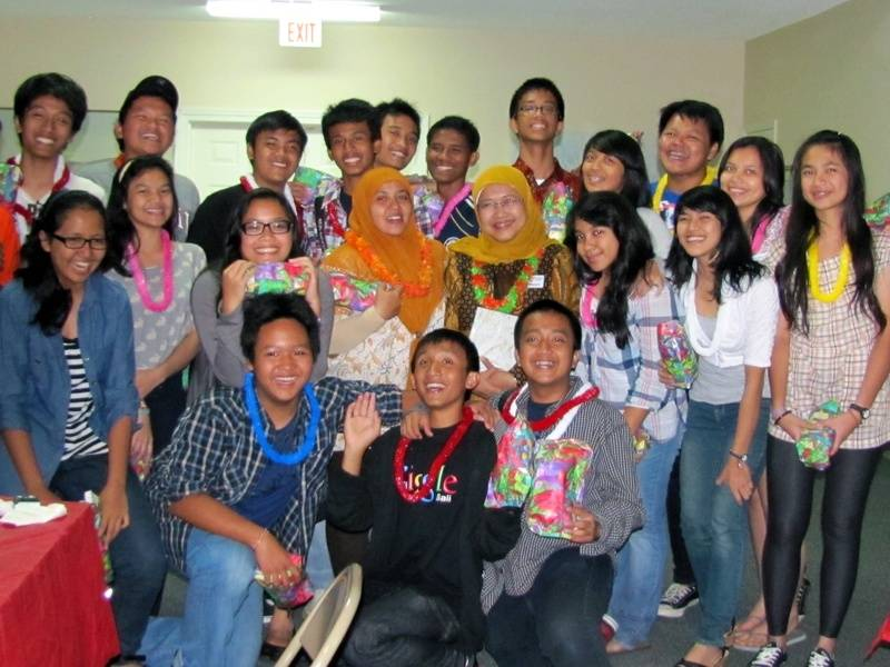 Indonesian High School inbound