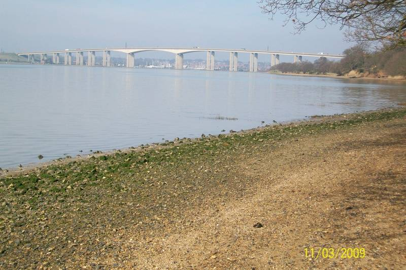Orwell Bridge from Orwell Country Park