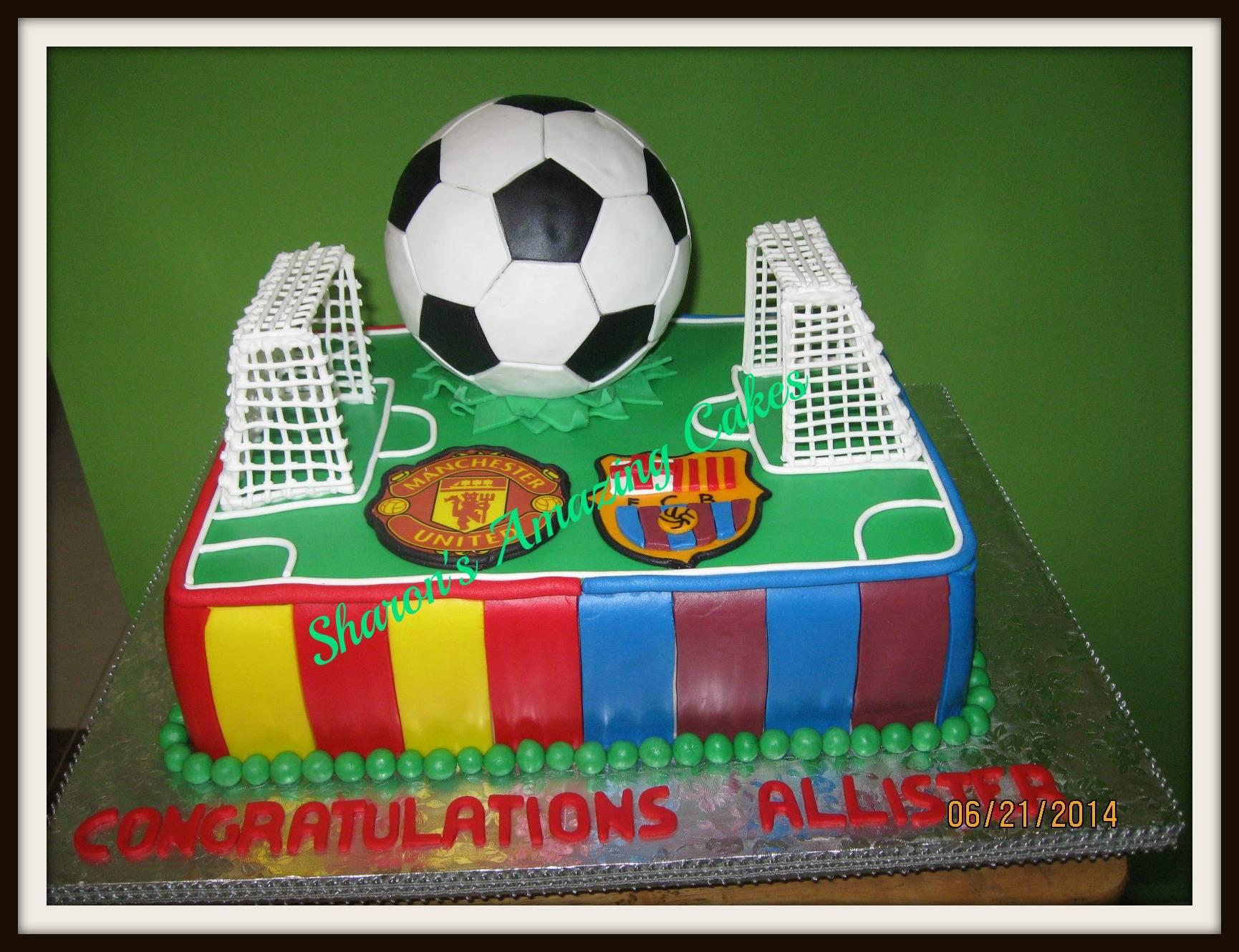 CAKE 28G - Football Theme