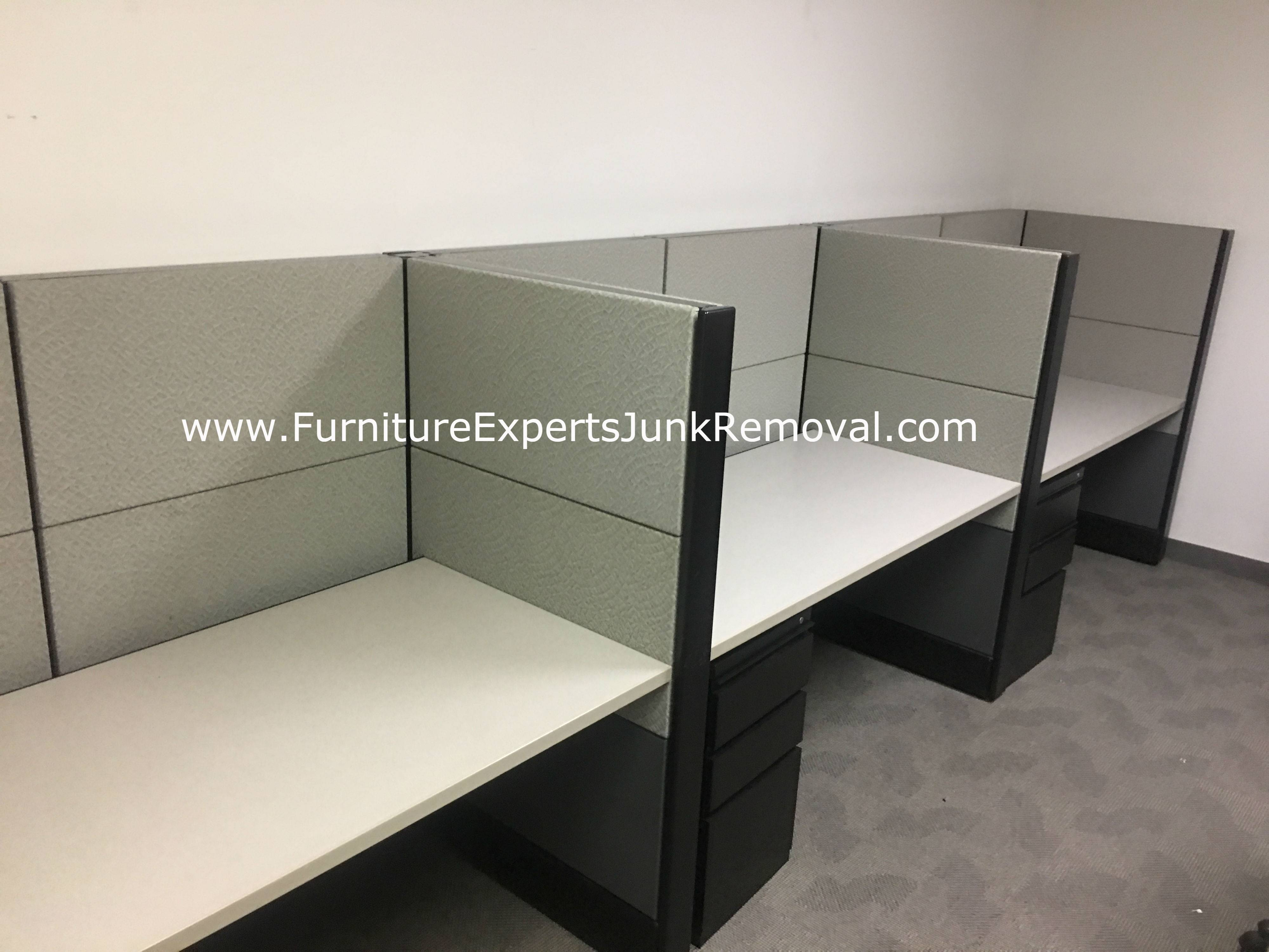Junk office cubicle removal in gaithersburg MD