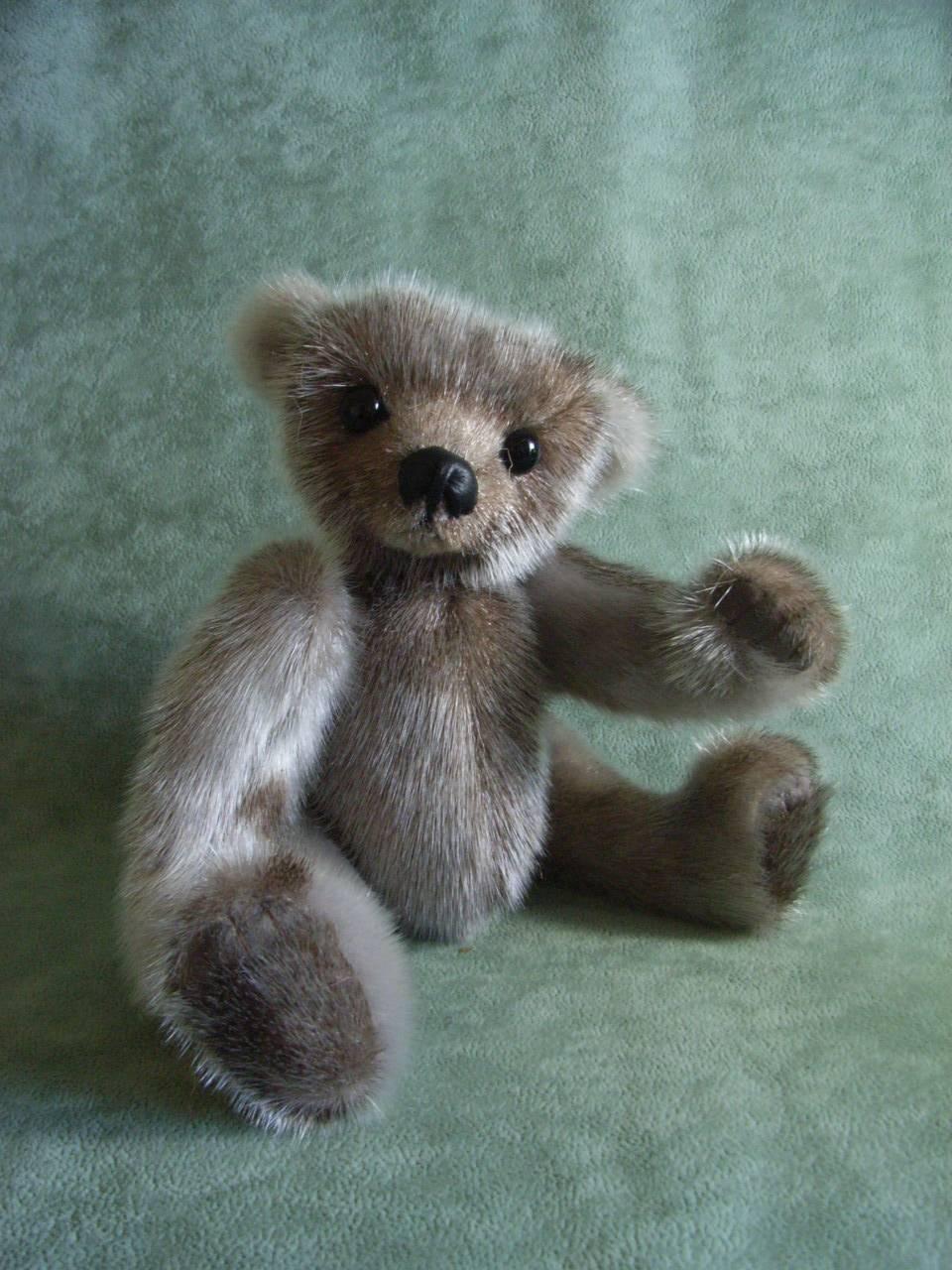 """""""Sigurd"""" made from vintage sealskin fur"""
