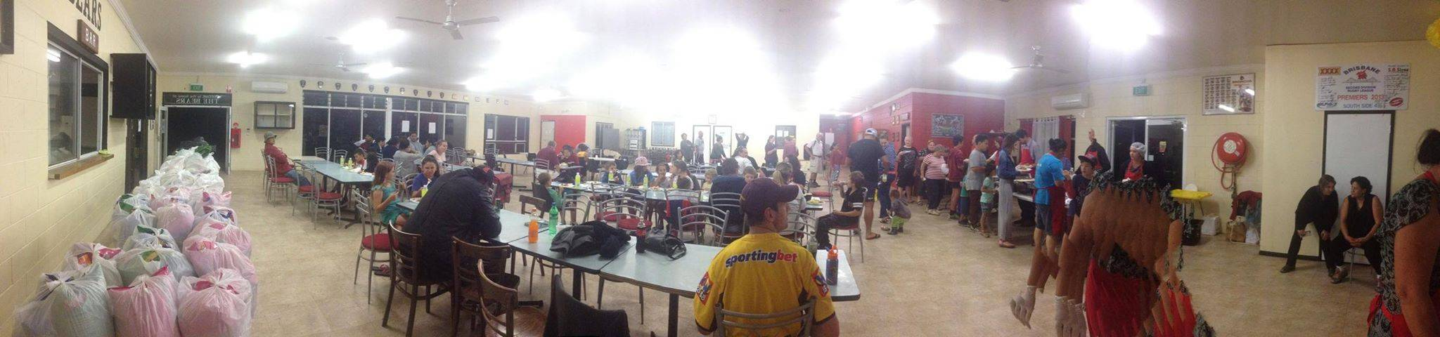 A Panoramic view of Browns Plains Dinner