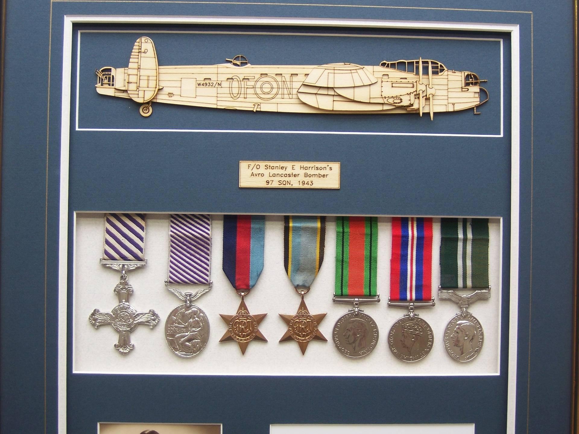 Bomber Command Medal Box