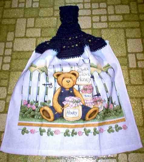 Sweet Clover Honey Kitchen Towel