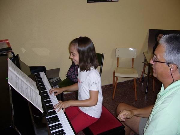 Clase de piano con José Ramón