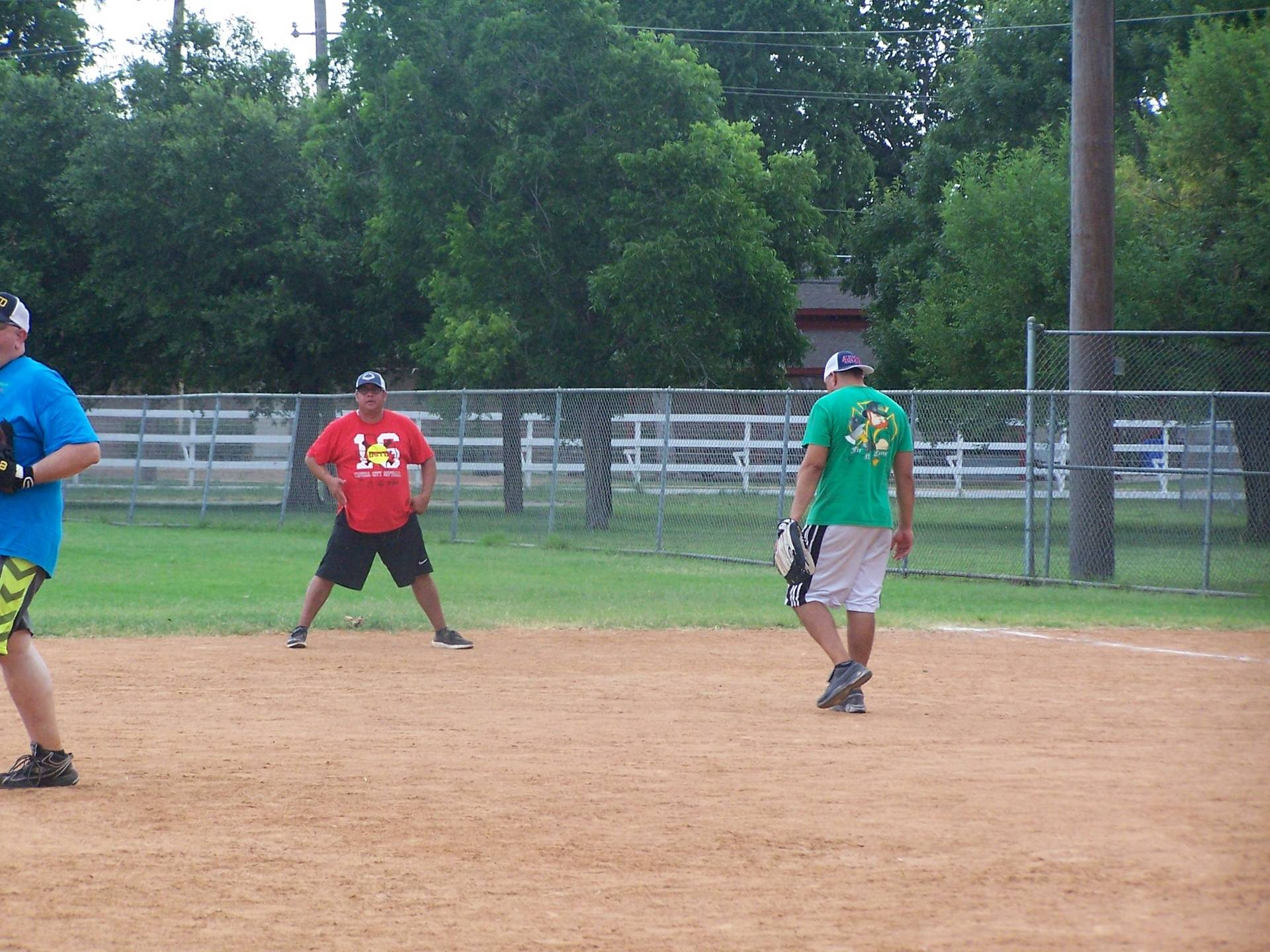 Roger Moreno outfield