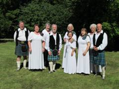RSCDS Scottish Dancers