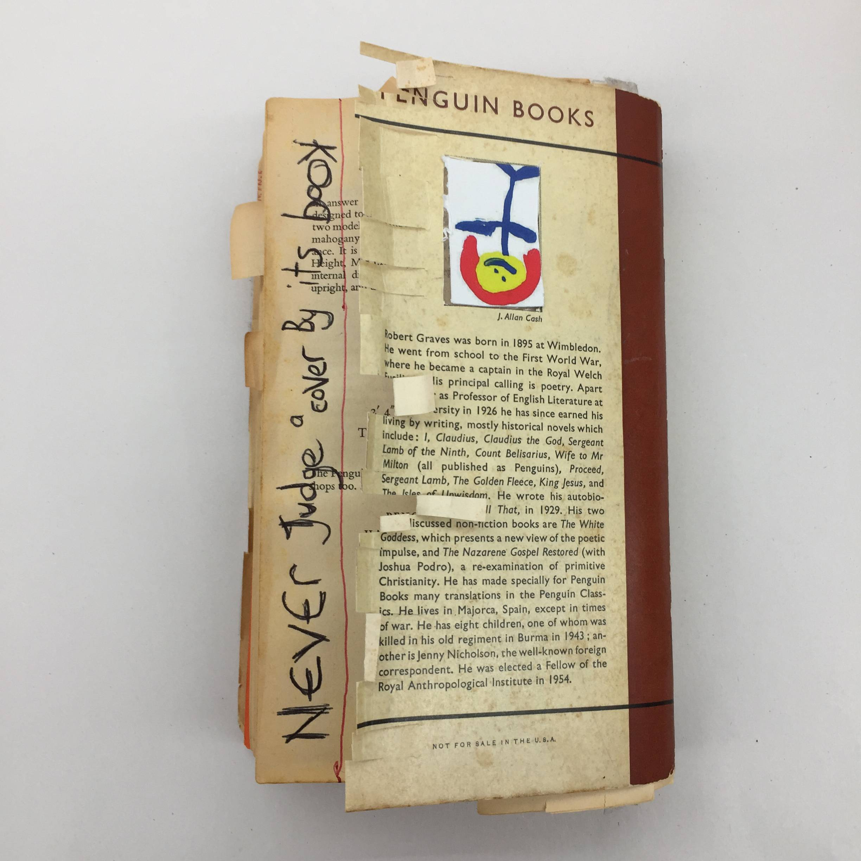 The Greek Reverse - book desecration