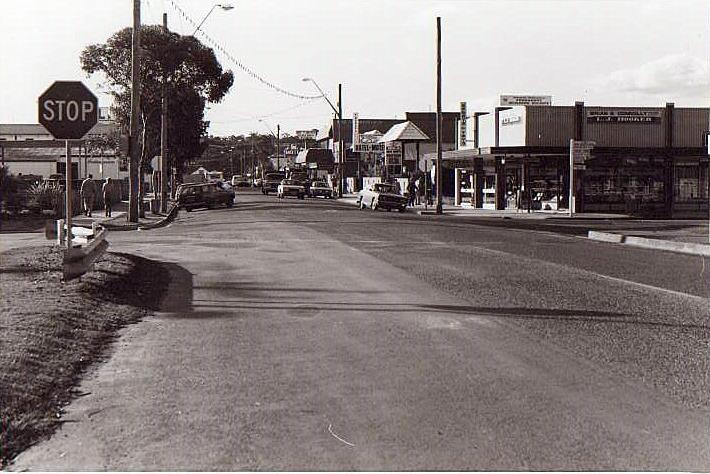 Corner of Beach Road and Orient Street, 1981