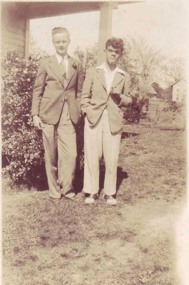 Deering Manning and Bryan Morris 1948-9