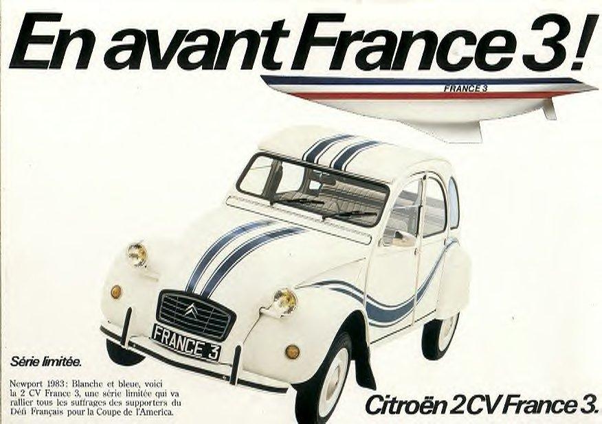 Unieke eigenschappen 2CV France3