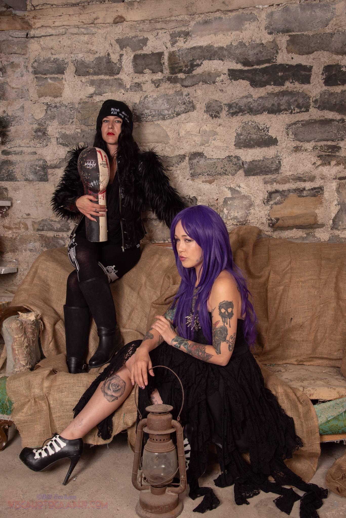 Becky and Catt