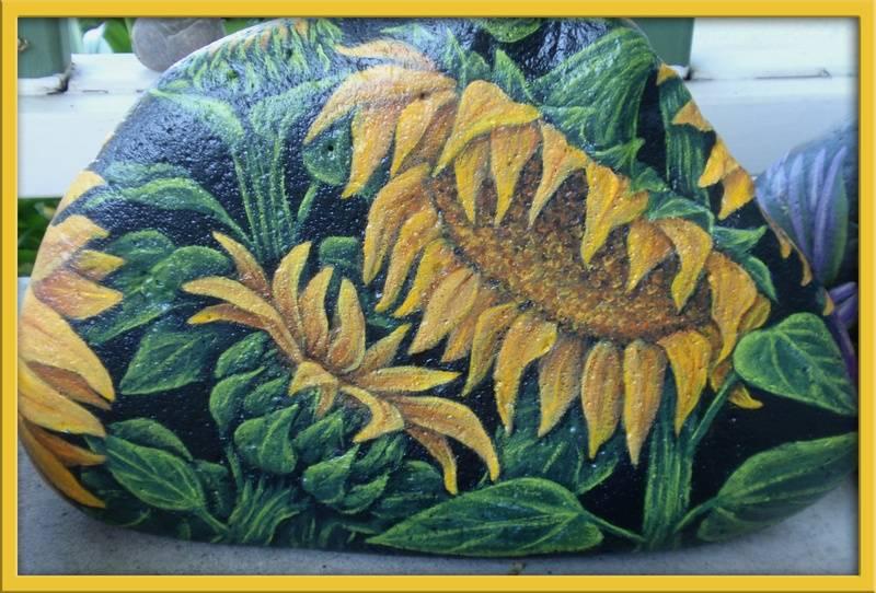 Sunflower - Backside