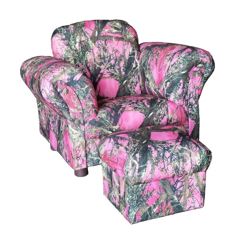 Little Kids Chair & Ottoman