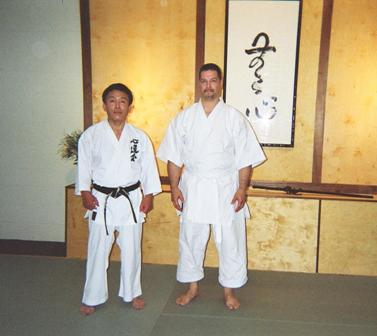 Sensei Morales with the Amazing Ushiro Kenji Shihan May 2008