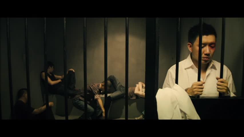 Behind bars again