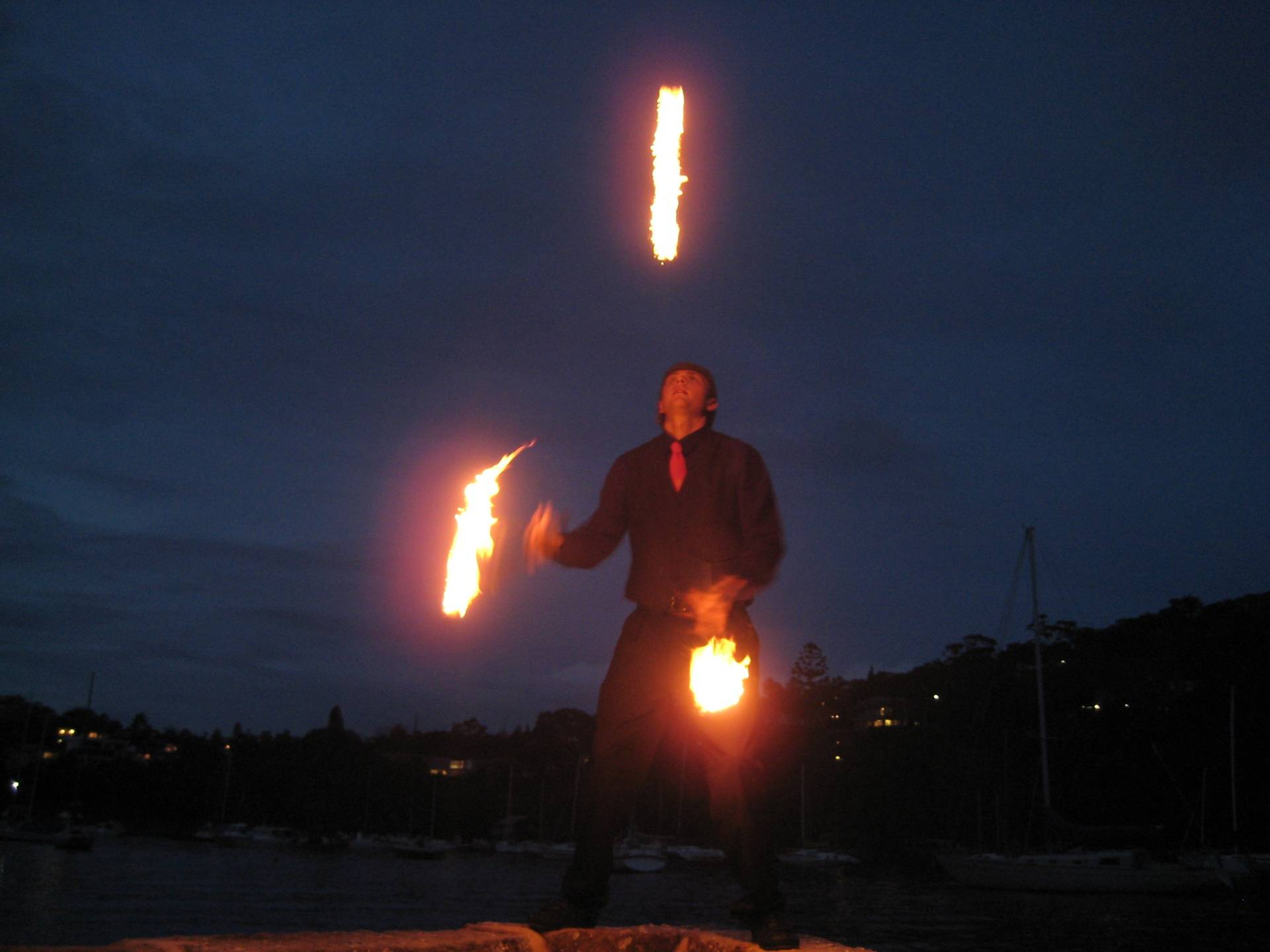 Fire Juggling