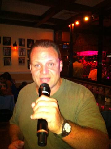 The smooth sounds of Mike D at Joe's Place Friday Night Karaoke Fiesta!
