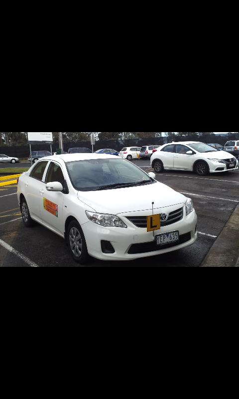 Driving School Frankston - Toyota Corolla  - Automatic Transmission