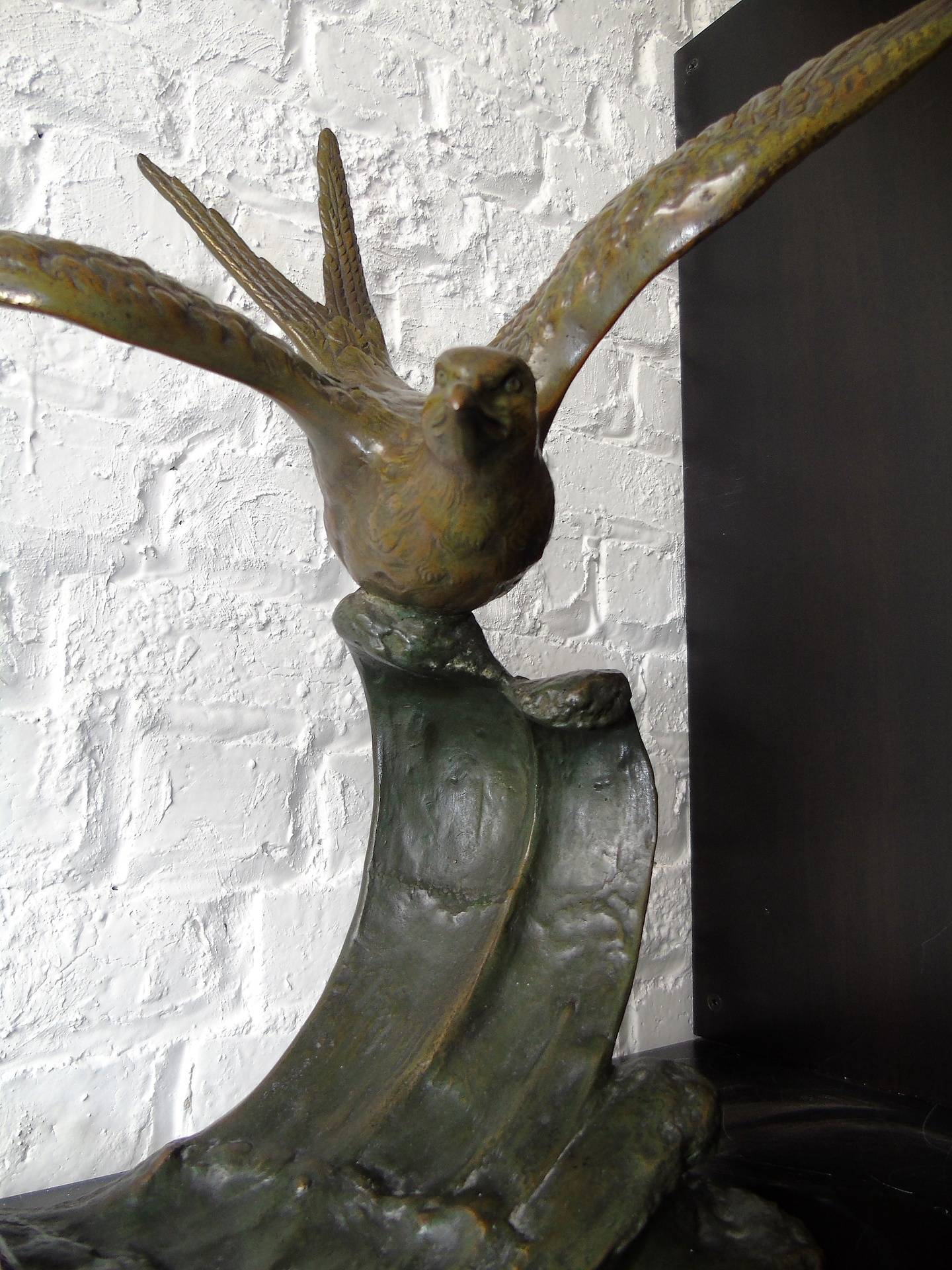 Bronze signé Erget