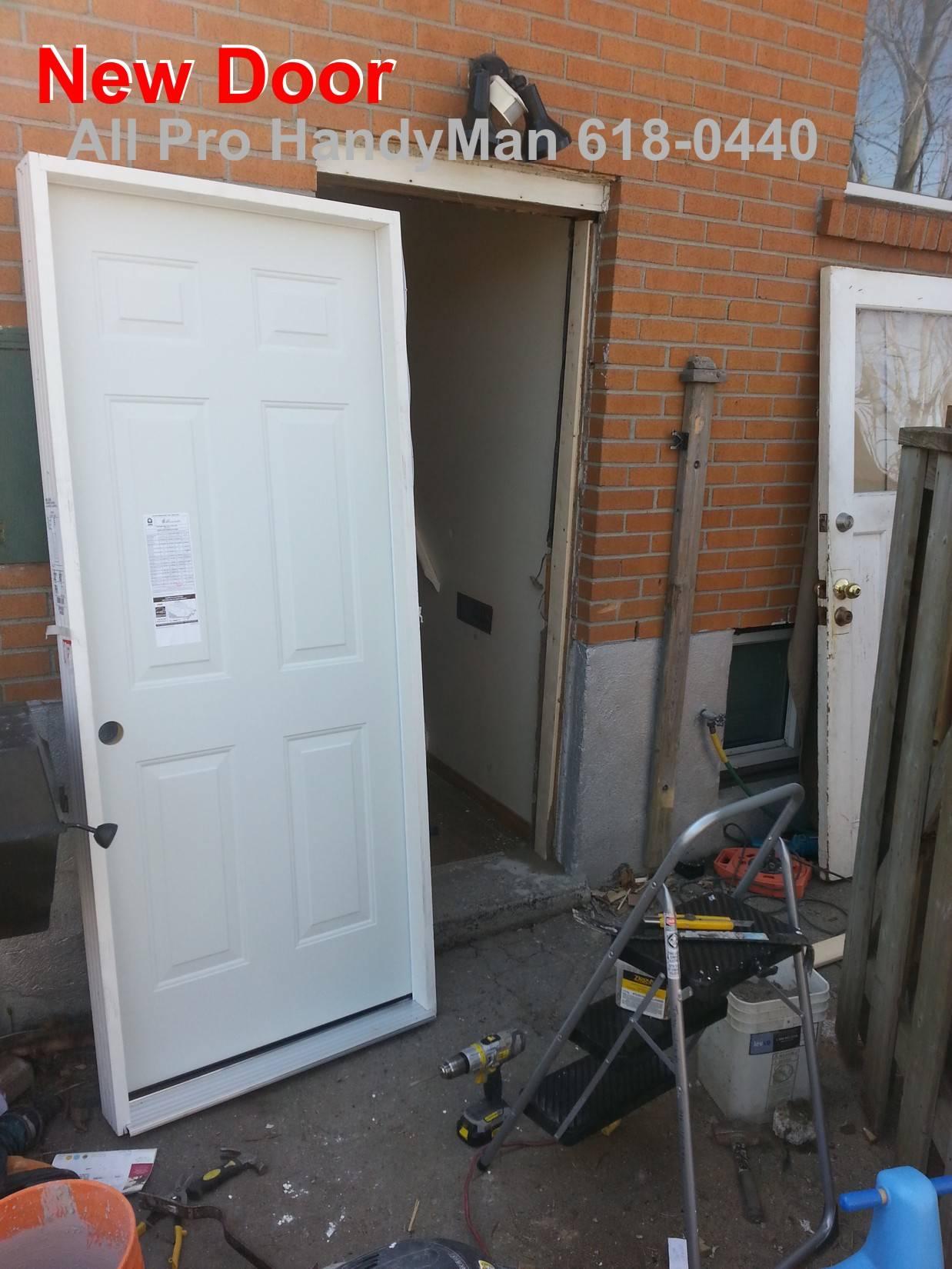 Install new Door