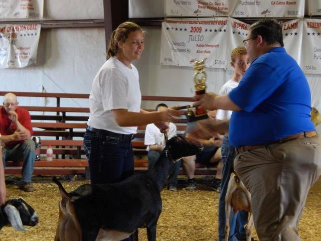Kelsie Winning Sr. Showmanship