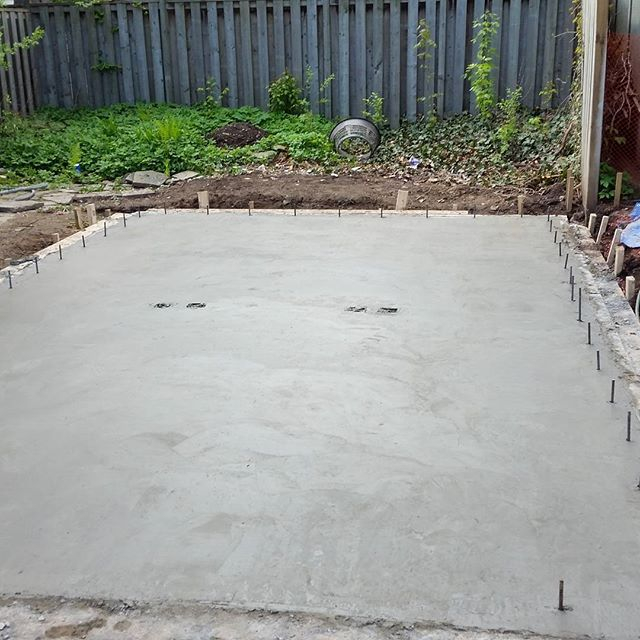 Garage Concrete Slab