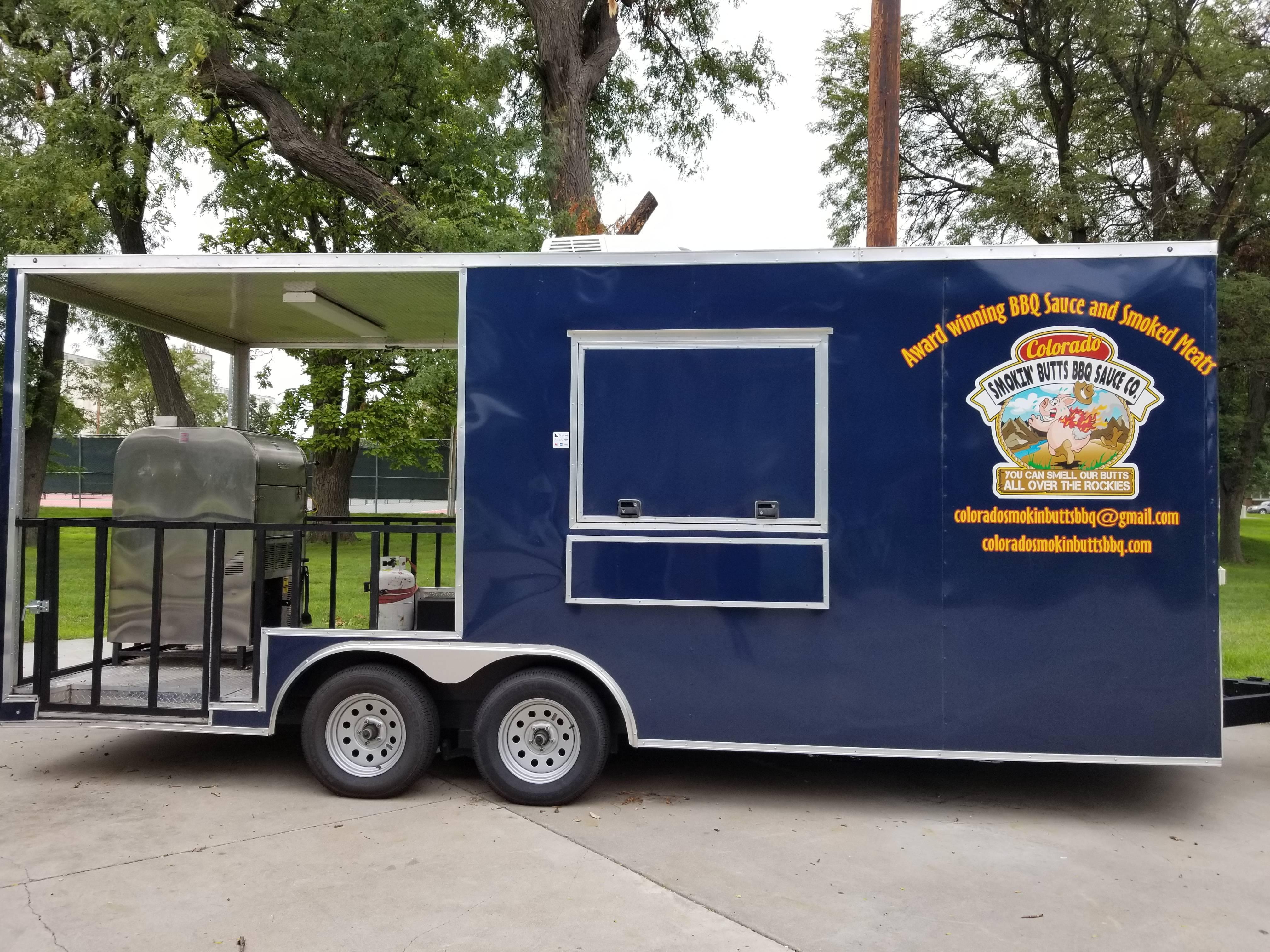Colorado Smokin' Butts Concession Trailer