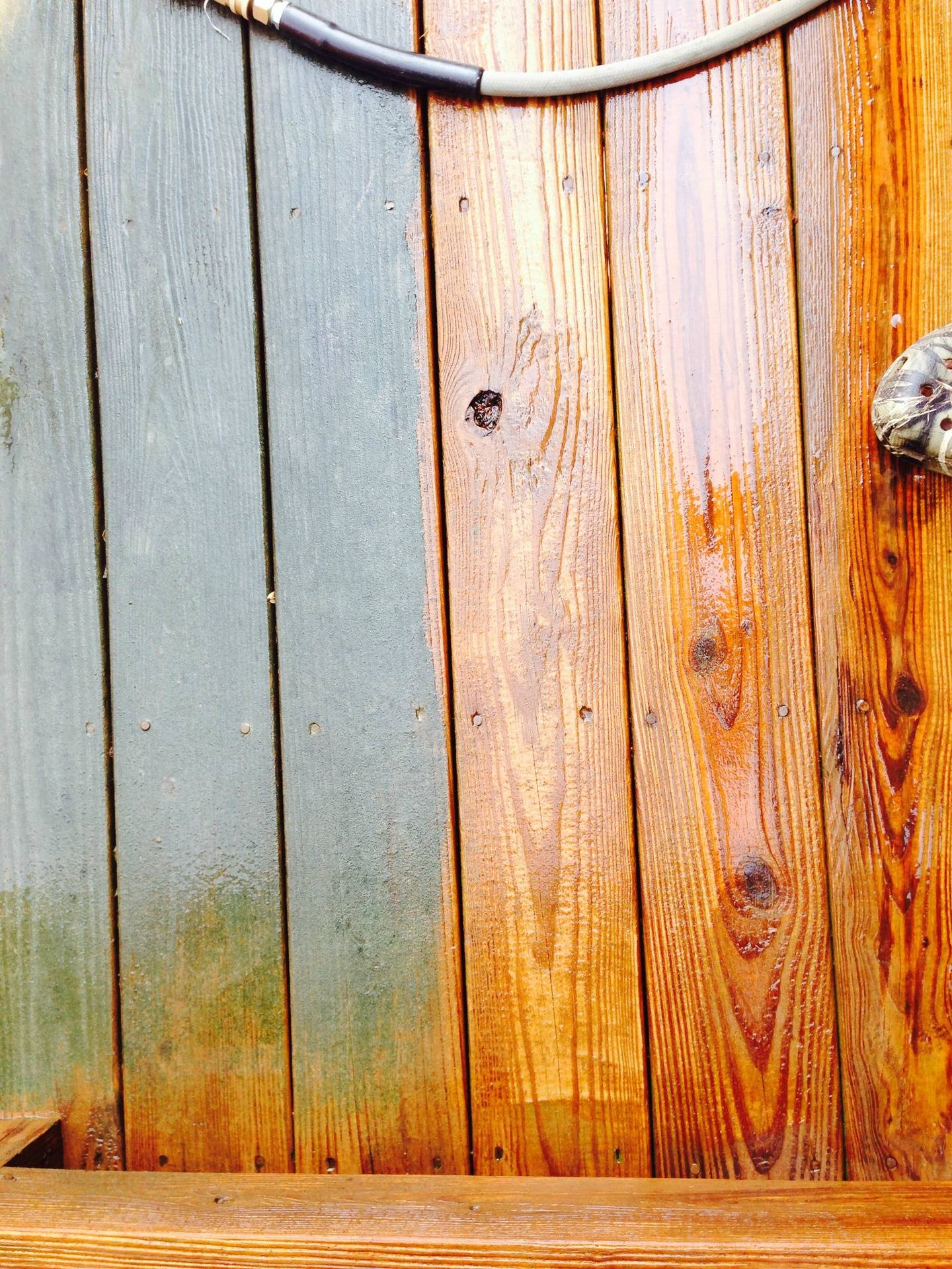 A dirty deck gets a facelift