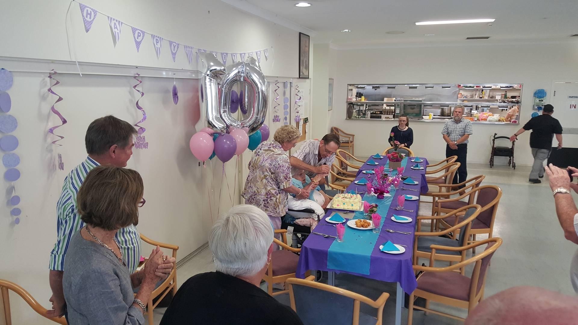 Joyce's 100th Birthday!
