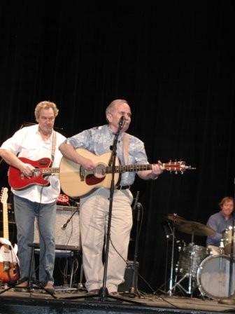 Geoff Morris and Jim Clare at Kenan Auditorium