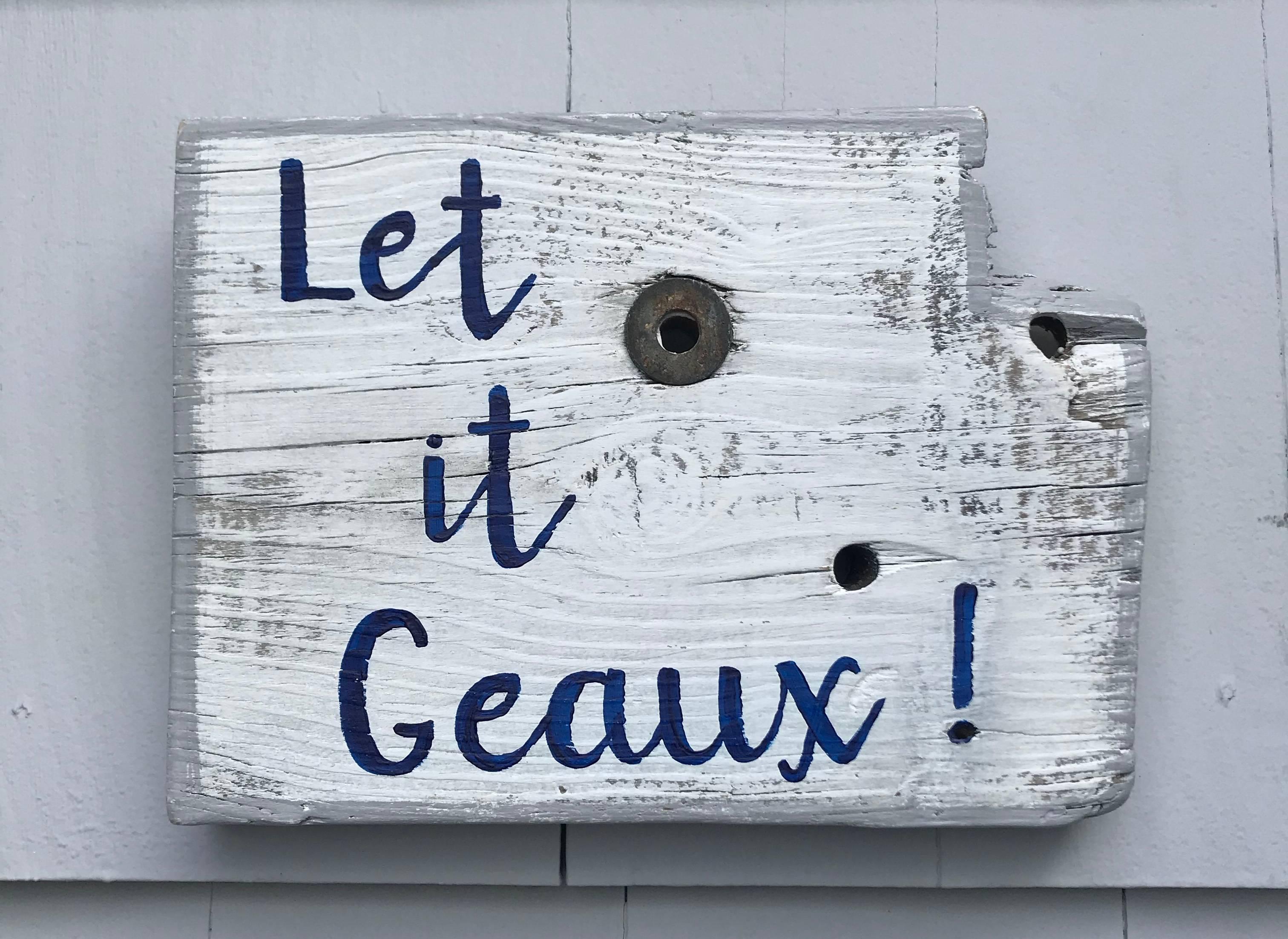 Let it Geaux!