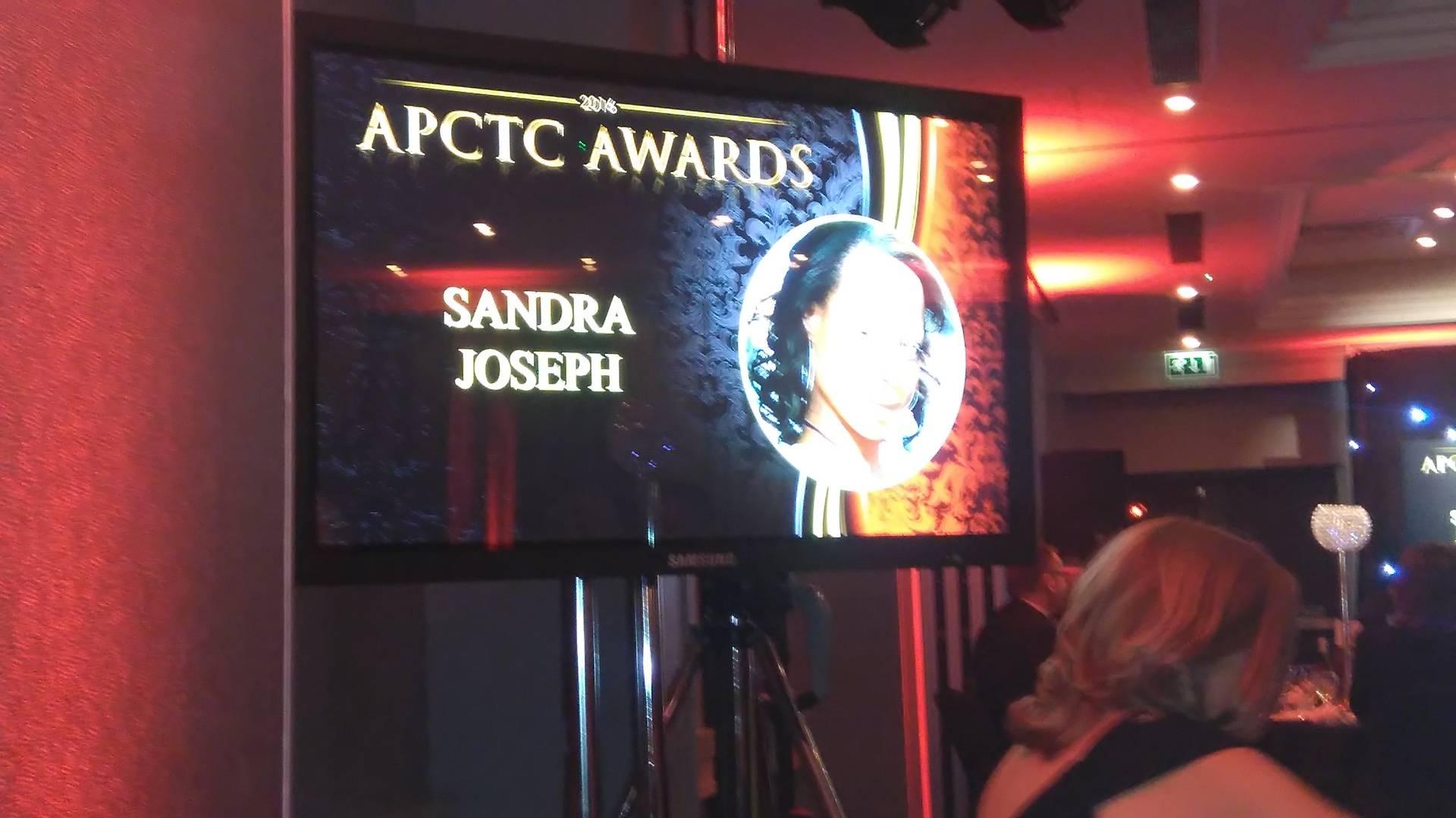 APCTC AWARDS 26/11/16