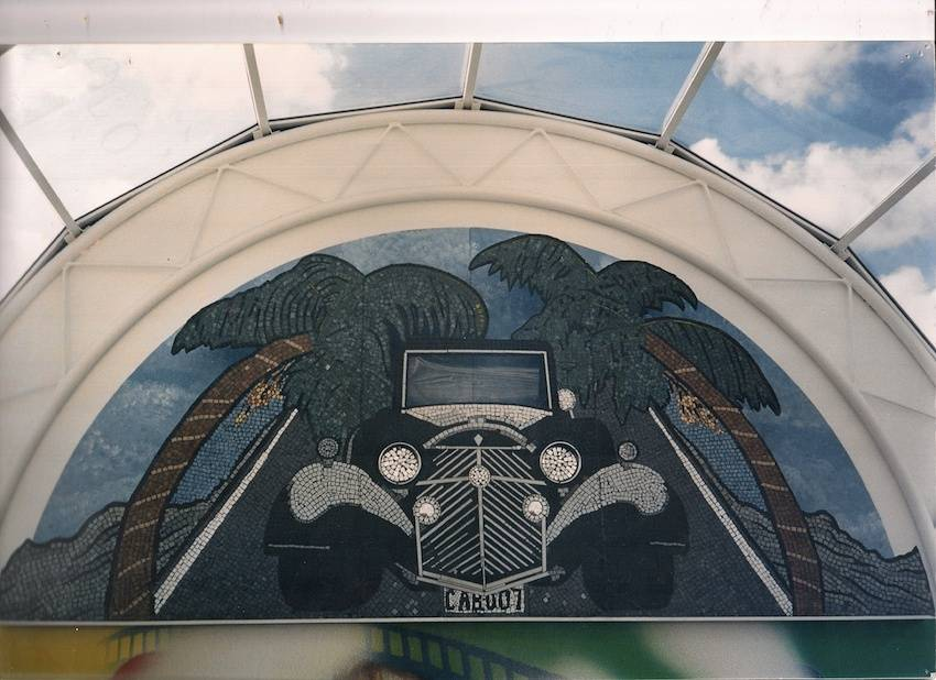 Hollywood Plaza Shopping Centre Mosaic