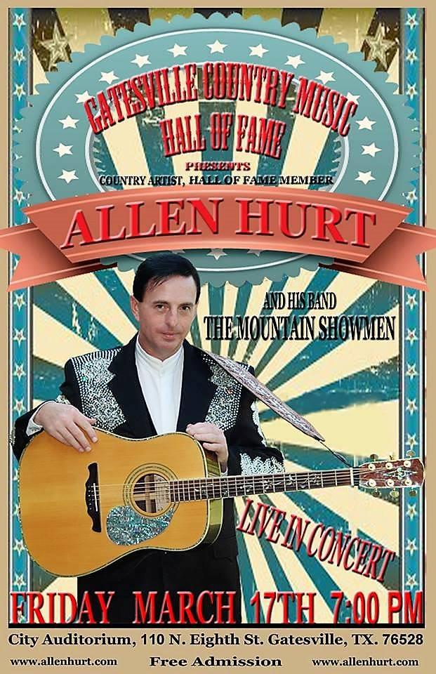 "Allen Hurt and the ""Mountain Showmen"", March 17, 2017"