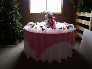 Cake Table Russell Wedding