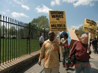 Anti-Drone Rally April 13, 2013