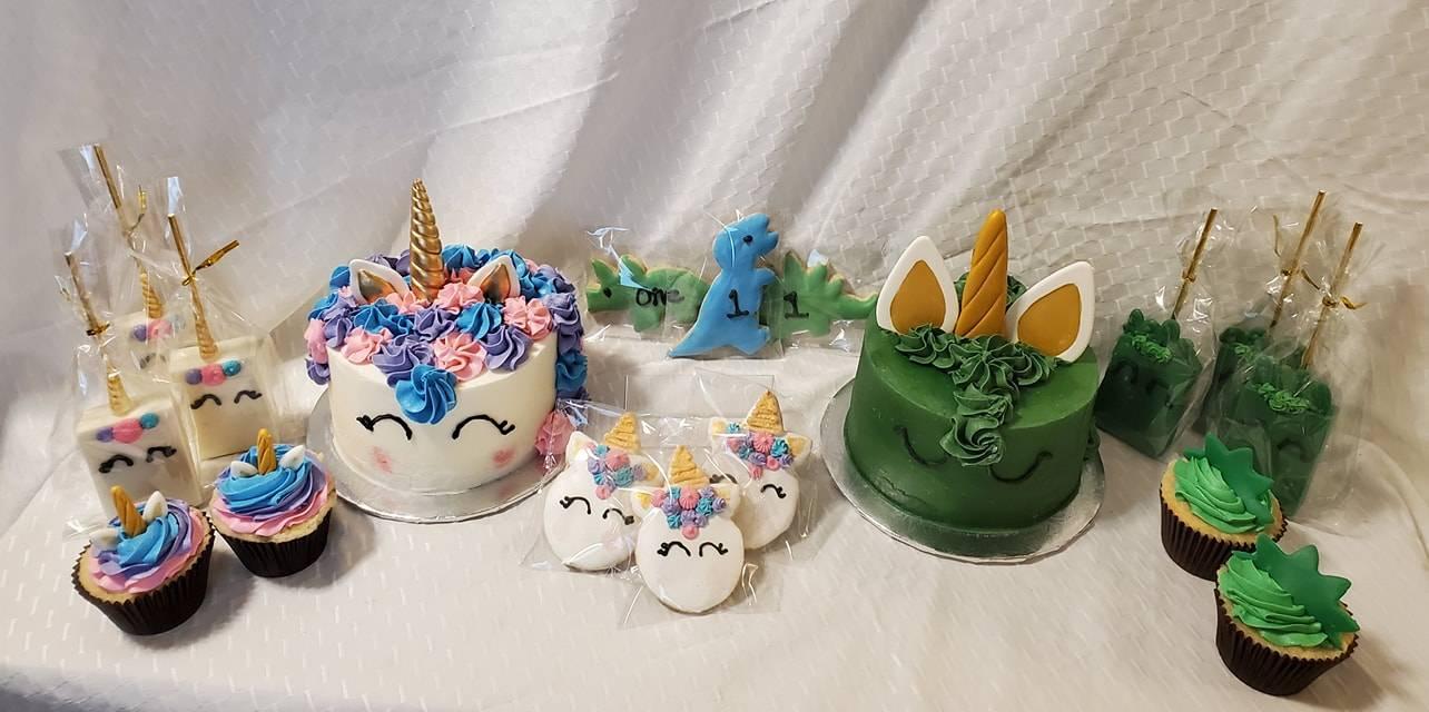 Unicorn and Unicorn Dragon
