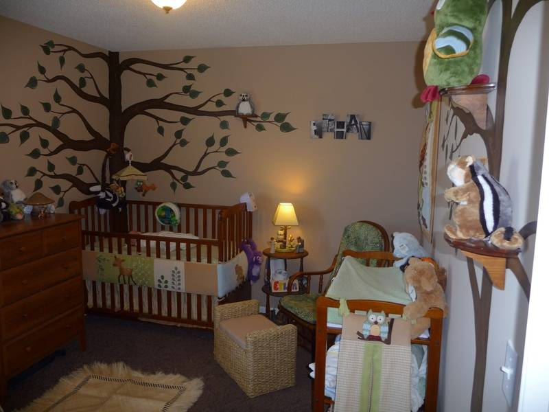 Ethans American Woods Cute Critters Room