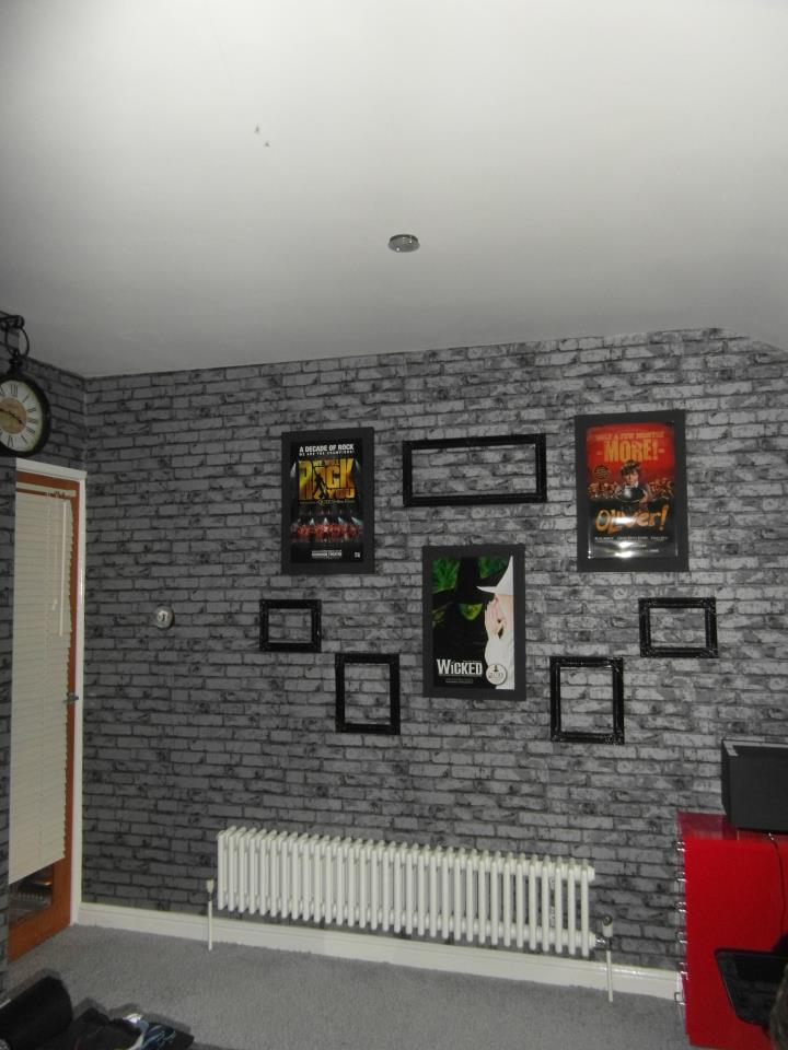 feature wall in paper location stevenage